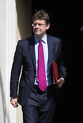 Communities Secretary Greg Clark leaves Prime Minister David Cameron's final cabinet meeting following Theresa May's anticipated takeover as Leader of the Conservative Party and Prime Minister on Wednesday 13th July 2016.