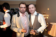 TERRY RONALD; MARK HAMMERTON, Terry Ronald - book launch party for his book ' Becoming Nancy' . The Westbury Hotel, Pine Room, Bond Street, London, W1S 2YF<br /> -DO NOT ARCHIVE-© Copyright Photograph by Dafydd Jones. 248 Clapham Rd. London SW9 0PZ. Tel 0207 820 0771. www.dafjones.com.