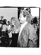 Ann and Mick Jones 'Men and Women H.B.O party. E.Hampton. 1990© Copyright Photograph by Dafydd Jones 66 Stockwell Park Rd. London SW9 0DA Tel 020 7733 0108 www.dafjones.com