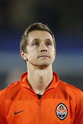 Bohdan Butko of FC Shakhtar Donesk during the UEFA Champions League group F match between Feyenoord Rotterdam and Shakhtar Donetsk at the Kuip on October 17, 2017 in Rotterdam, The Netherlands