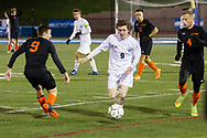 Middletown, New York - New York State Public High School Athletic Assocation boys' soccer semifinal game at Faller Field on Nov. 10, 2018.