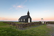 Budir church in west iceland Snaefellsnes