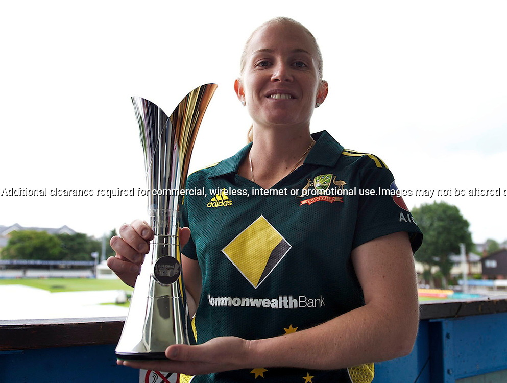 22.6.2011. Jodie Fields, Australia Women's cricket captain at the NatWest Women's Quadrangular Series between England, Australia, New Zealand and India, Launch at Essex CCC, The Ford County Ground, Chelmsford, Essex, England. 22 June 2011. Photo Michael Paler/ Photosport.co.nz