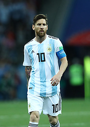 June 21, 2018 - Nizhny Novgorod, Russia - Group D Argentina v Croazia - FIFA World Cup Russia 2018.Lionel Messi (Argentina) at Nizhny Novgorod Stadium, Russia on June 21, 2018. (Credit Image: © Matteo Ciambelli/NurPhoto via ZUMA Press)