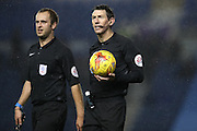 Referee Lee Probert during the EFL Trophy Southern Group G match between U23 Brighton and Hove Albion and Leyton Orient at the American Express Community Stadium, Brighton and Hove, England on 8 November 2016.