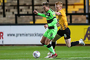 Forest Green Rovers Dayle Grubb(8) on the ball during the EFL Sky Bet League 2 match between Cambridge United and Forest Green Rovers at the Cambs Glass Stadium, Cambridge, England on 2 October 2018.
