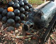 Cannon Balls and Jack o Lantern, Central Square, Keene Pumpkin Festival