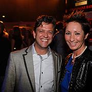 NLD/Amsterdam/20121013- LAF Fair 2012 VIP Night, Susan Rastin en partner