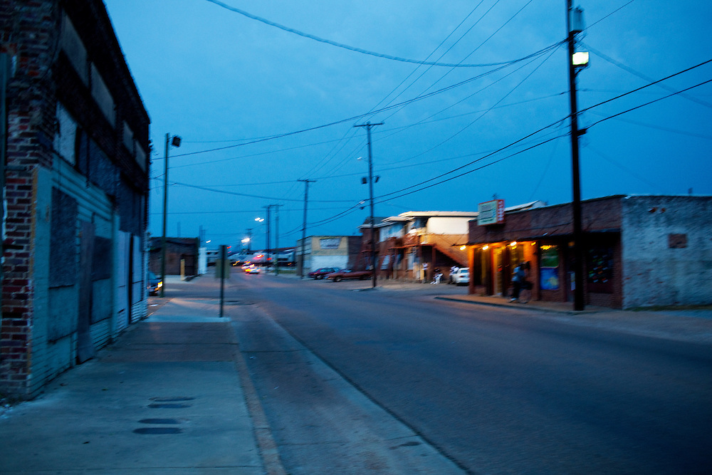 in Greenwood, Mississippi on May 25, 2011.