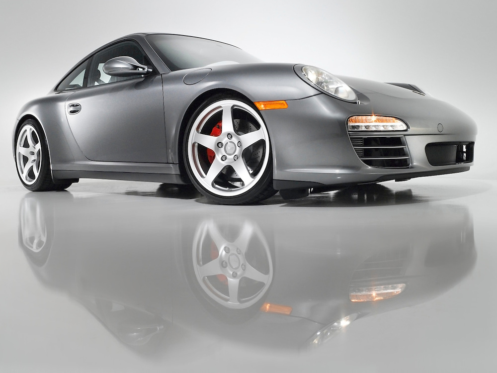 Automotive - Silver 911/997 Coupe