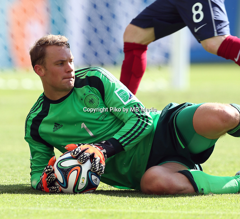 Fifa Soccer World Cup - Brazil 2014 - <br /> FRANCE (FRA) Vs. GERMANY (GER) - Quarter-finals - Estadio do MaracanaRio De Janeiro -- Brazil (BRA) - 04 July 2014 <br /> Here German player GK Manuel NEUER<br /> &copy; PikoPress