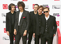 The Horrors, The Q Awards 2017 - Red Carpet Arrivals, Roundhouse, London UK, 18 October 2017, Photo by Brett D. Cove