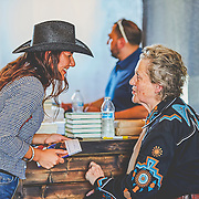 Temple Grandin at Campos Family Vineyards