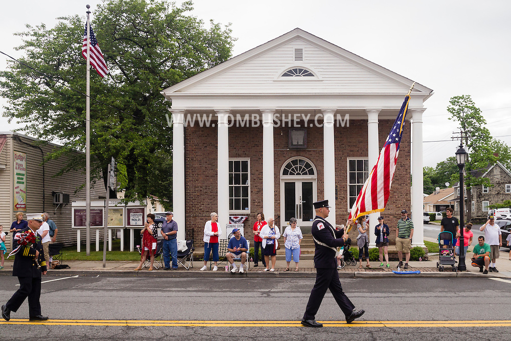 Pine Bush, New York - The Pine Bush Memorial Day parade was held on May 30, 2016.