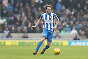 Brighton & Hove Albion central midfielder Dale Stephens (6) during the EFL Sky Bet Championship match between Brighton and Hove Albion and Burton Albion at the American Express Community Stadium, Brighton and Hove, England on 11 February 2017.