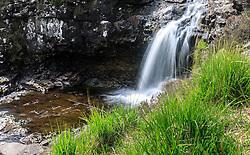 THEMENBILD - Wasserfälle der Fairy Pools, Glen Brittle, Isle of Skye, Schottland, aufgenommen am 12. Juni 2015 // Waterfalls of the Fairy Pools, Glen Brittle, Scotland on 2015/06/12. EXPA Pictures © 2015, PhotoCredit: EXPA/ JFK