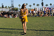 Rumi Neely at Coachella Day Three
