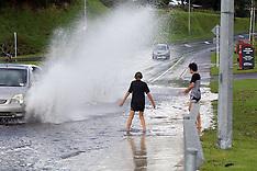 Tauranga-Flooding and storm damage at Greerton