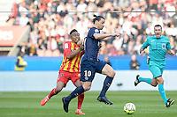 Zlatan IBRAHIMOVIC - 07.03.2015 -   PSG / Lens -  28eme journee de Ligue 1 <br /> Photo : Andre Ferreira / Icon Sport