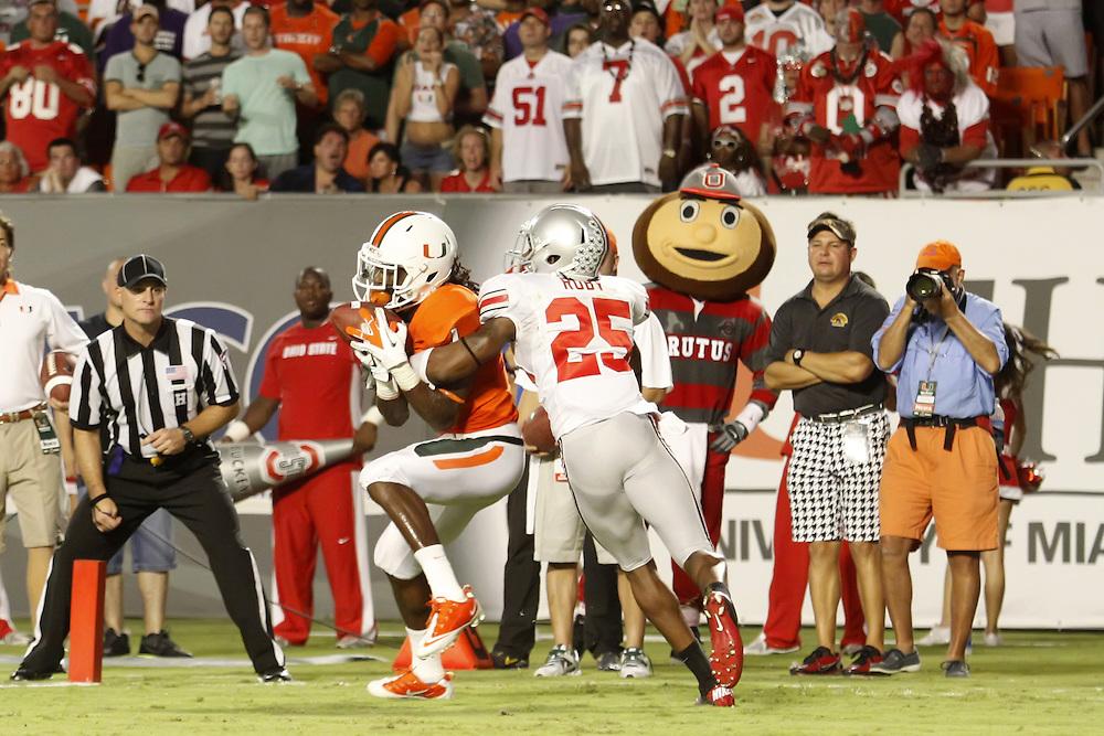 2011 Miami Hurricanes Football vs Ohio State