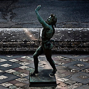 The Dancing Faun at the House of the Faun in Pompeii.Nearly 4 month after the collapse of the House of the Gladiators and then of a wall at the House of the Moralist, Pompeii still faces neglet and mismanagement.Now the Italian government has begun to investigate the matter. Nine people are to be questioned, although Marcello Fiori, the emergency commissioner who was appointed to save the site in 2008, is conspicuously absent from the group.Those who will be grilled by the public prosecutor include the former superintendent of Naples and Pompeii, the site director who oversaw the waterproofing of the House of the Gladiators, the head of technical services at Pompeii, and an architect. The investigation will also examine Fiori's administration, which ended in July, including its use of government funds, which many critics have seen as wasteful and ineffective.