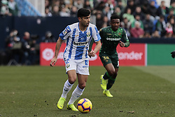 February 10, 2019 - Madrid, Madrid, Spain - CD Leganes's Juan Francisco Moreno during La Liga match between CD Leganes and Real Betis Balompie at Butarque Stadium in Madrid, Spain. February 10, 2019. (Credit Image: © A. Ware/NurPhoto via ZUMA Press)