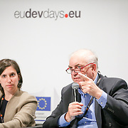 04 June 2015 - Belgium - Brussels - European Development Days - EDD - Citizenship - How can development cooperation effectively fight corruption and promote good governance? - Elly Schlein , Member of the European Parliament - Charles Goerens , Member , Committee on Development , European Parliament © European Union