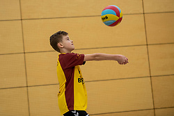 31-03-2019 NED: Final D Volleybaldirect Open, Wognum<br /> 16 teams of girls and boys D competed for the Dutch Open Championship / Zovoc vs. SV Dynamo