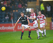 Dundee&rsquo;s Mark O&rsquo;Hara and Hamilton&rsquo;s Darian MacKinnon - Dundee v Hamilton Academical in the Ladbrokes Scottish Premiership at Dens Park<br /> <br />  - &copy; David Young - www.davidyoungphoto.co.uk - email: davidyoungphoto@gmail.com