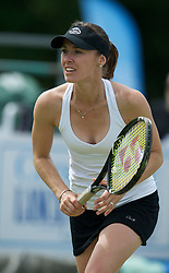 LIVERPOOL, ENGLAND - Saturday, June 18, 2011: Martina Hingis (SUI) during the Women's Final on day three of the Liverpool International Tennis Tournament at Calderstones Park. (Pic by David Rawcliffe/Propaganda)