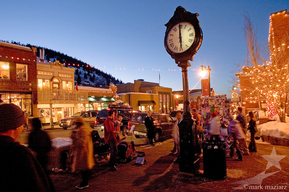 Park City's Main Street during Sundance Film Festival