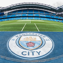 The Etihad Stadium before the English Premier League match between Manchester City and Crystal Palace<br /> (c) John Baguley | SportPix.org.uk