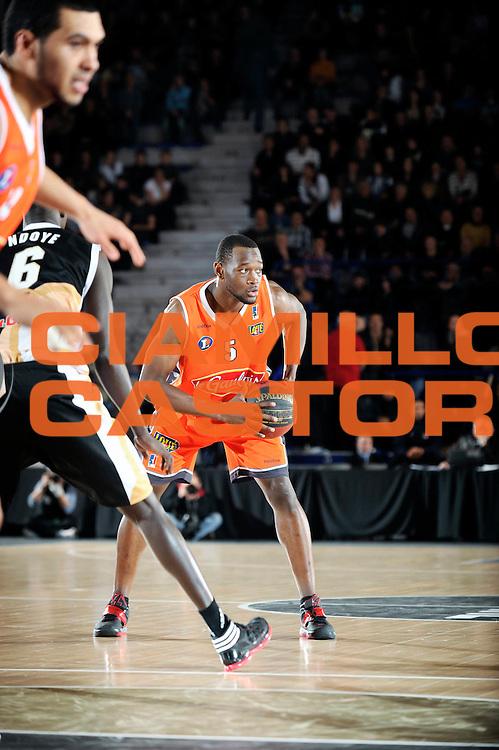 DESCRIZIONE : Championnat de France Pro A Semaine des As Roanne<br /> GIOCATORE : Kahudi Charles<br /> SQUADRA : Le Mans<br /> EVENTO : Pro A Semaine des As<br /> GARA : Le Mans Orleans<br /> DATA : 16/02/2012<br /> CATEGORIA : Basketball France Homme<br /> SPORT : Basketball<br /> AUTORE : JF Molliere<br /> Galleria : France Basket 2011-2012 Action<br /> Fotonotizia : Championnat de France Basket Pro A Semaine des As<br /> Predefinita :