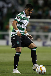 September 20, 2018 - Lisbon, Portugal - Marcos Acuna of Sporting in action  during Europa League 2018/19 match between Sporting CP vs Qarabagh FK, in Lisbon, on September 20, 2018. (Credit Image: © Carlos Palma/NurPhoto/ZUMA Press)