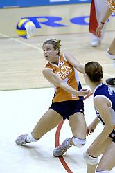 16-10-2006 VOLLEYBAL: DELA TROPHY: NEDERLAND - CUBA: ROTTERDAM<br /> De Nederlandse volleybalsters hebben de derde wedstrijd in de testserie tegen Cuba, met als inzet de Dela Cup, verloren. In Rotterdam zegevierde Cuba met 3-1 / Elke Wijnhoven<br /> ©2006-WWW.FOTOHOOGENDOORN.NL