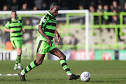 Forest Green Rovers Isaiah Osbourne(34) during the EFL Sky Bet League 2 match between Forest Green Rovers and Notts County at the New Lawn, Forest Green, United Kingdom on 10 March 2018. Picture by Shane Healey.