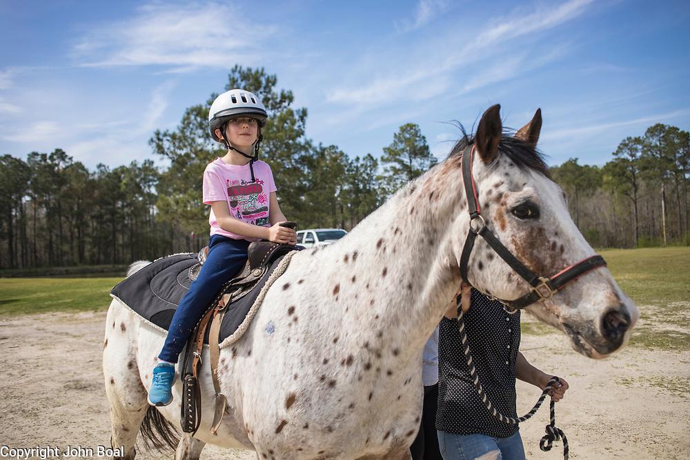Eva and Garland Groves farm. Horses, pigs, donkeys and cat & dog. Monday, April 2, 2018. -- John Boal Photography
