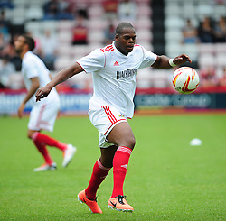 Bristol City's Marlon Harewood - Photo mandatory by-line: Dougie Allward/JMP - Tel: Mobile: 07966 386802 27/03/2013 - SPORT - FOOTBALL - Goldsands Stadium - Bournemouth -  Bournemouth V Bristol City - Pre Season friendly