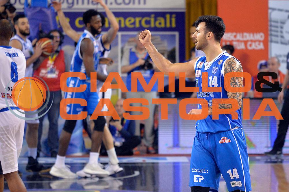 Brian Sacchetti<br /> Germani Basket Brescia Leonessa - Banco di Sardegna Dinamo Sassari <br /> Lega Basket Serie A 2016/2017<br /> Montichiari, 05/02/2017<br /> Foto Ciamillo-Castoria