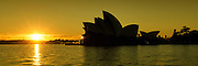 Sunrise @ Sydney Opera House in Panorama