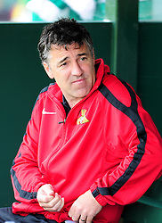 Doncaster Rovers' Manger Dean Saunders - Photo mandatory by-line: Dougie Allward/Josephmeredith.com  - Tel: Mobile:07966 386802 01/09/2012 - SPORT - FOOTBALL - League 1 -  Yeovil  - Huish Park -  Yeovil Town v Doncaster Rovers