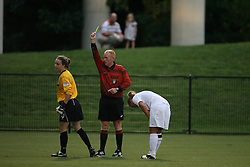 The Virginia Cavaliers Women's Soccer Team defeated the University of Vermont 6-0 on September 15, 2006 at Klöckner Stadium in Charlottesville, VA...