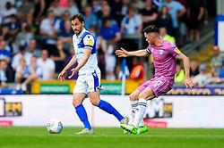 Edward Upson of Bristol Rovers is marked by Ian Henderson of Rochdale - Mandatory by-line: Ryan Hiscott/JMP - 22/04/2019 - FOOTBALL - Memorial Stadium - Bristol, England - Bristol Rovers v Rochdale - Sky Bet League One