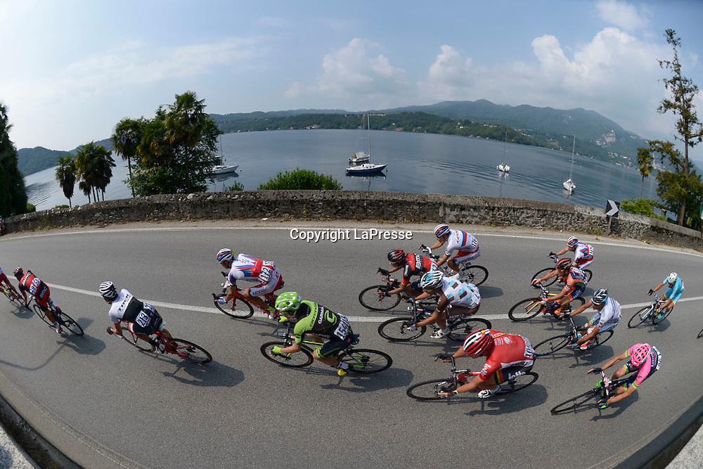 Foto LaPresse - Fabio Ferrari<br /> 29/05/2015 Gravellona Toce ( Italia )<br /> Sport Ciclismo<br /> Giro d'Italia 2015 - 98a edizione - Tappa 19 - da Gravellona Toce a Cervinia - 236,1 Km ( 146,6 Miglia ) <br /> Nella foto: panoramica<br /> <br /> Photo LaPresse - Fabio Ferrari<br /> 29 May 2015 Gravellona Toce ( Italy )<br /> Sport Cycling<br /> Giro d'Italia 2015 - 98 edition - stage 19th  - from Gravellona Toce to Cervinia -  Km 236,1 ( 146,6 Miles ) <br /> In the pic: panoramic view