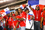 July 18 2009: Panama fans in the crowd during the game between USA and Panama. The United States defeated Panama 2-1 in added extra time in a CONCACAF Gold Cup quarter-final match at Lincoln Financial Field in Philadelphia, Pennsylvania.