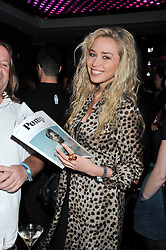 NOELLE RENO at a party to celebrate the launch of Pomp magazine - a magazine representing London Luxury without the Ceremony focusing on the luxury, fashion and culture of the Capital, hosted by Tom Parker Bowles and the Directors of Pomp Magazine held at The Cuckoo Club, Swallow Street, London on 17th November 2011.