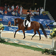 Karen Brain and VDL Odette competing in the grade IV Individual paralympic championships Hong Kong