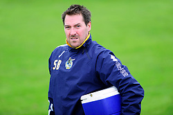 Bristol Rovers' U18s Head of Youth Medical Department, Steve Bissix  - Photo mandatory by-line: Dougie Allward/JMP - Tel: Mobile: 07966 386802 17/08/2013 - SPORT - FOOTBALL - Bristol Rovers Training Ground - Friends Life Sports Ground - Bristol - Academy - Under 18s - Youth - Bristol Rovers U18s V Bournemouth U18s