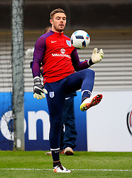 England's Jack Butland (Stoke City) - Mandatory byline: Matt McNulty/JMP - 22/03/2016 - FOOTBALL - St George's Park - Burton Upon Trent, England - Germany v England - International Friendly - England Training and Press Conference