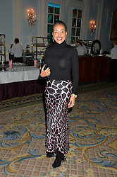 JACI REID at the Quintessentially Foundation's Poker Night held at The Savoy, London on 13th October 2016.